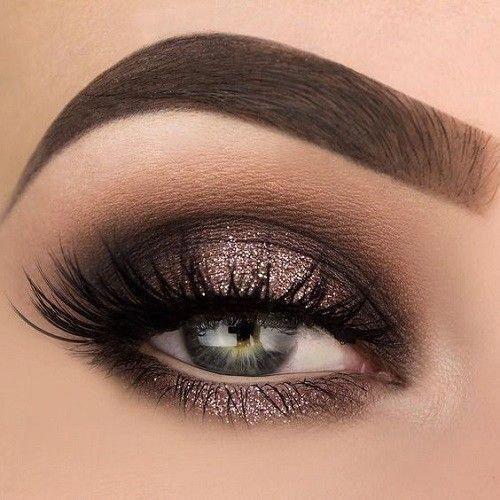 Einfache natürliche Augen Make-up Tutorial Schritt für Schritt alltäglichen bunten rosa Pfirsich