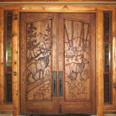 168 best Cabin Doors & Windows Of The Soul images on Pinterest ...