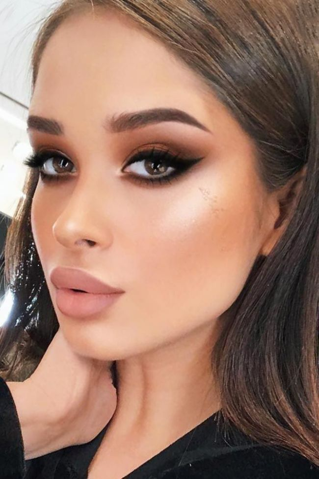 For Beginners This Is How You Do Your Face Cat Eye Makeup Eye