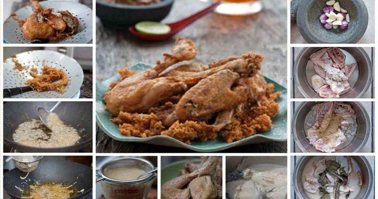 Ayam Goreng Kremes - Aku baru menemukan resep ayam goreng kremes Suharti, menurutku ini paling enak dari semua resep ayam kremes yang per...