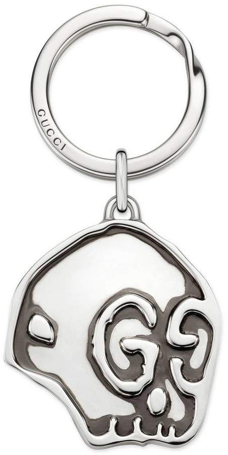 ac6a10cefc7 GUCCI Jewel Gucci Ghost Keychain In 925 Sterling Silver With Aureco  Finishing