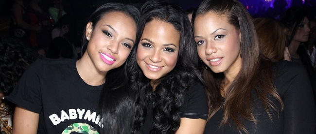 This past Sunday in L.A., insiders revealed to us that Karrueche Tran jetted from a club just to avoid Rihanna.  And can we really blame her?  Deets inside, plus her interview where she tells all about her, Chris Brown & Rih's love triangle....