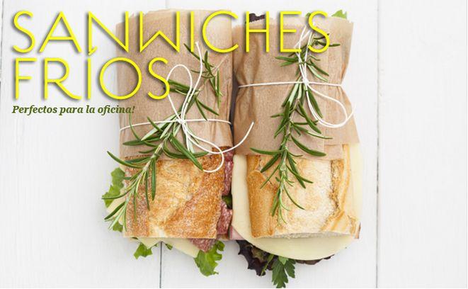 10 ideas de sandwiches fríos