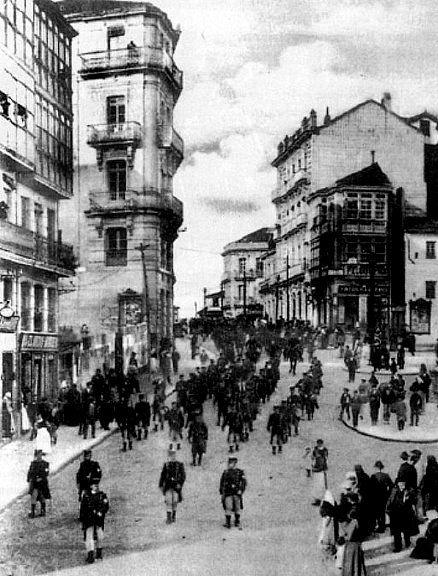 Vigo porta do sol finais s xix galicia noutros tempos pinterest - Hotel puerta del sol vigo ...