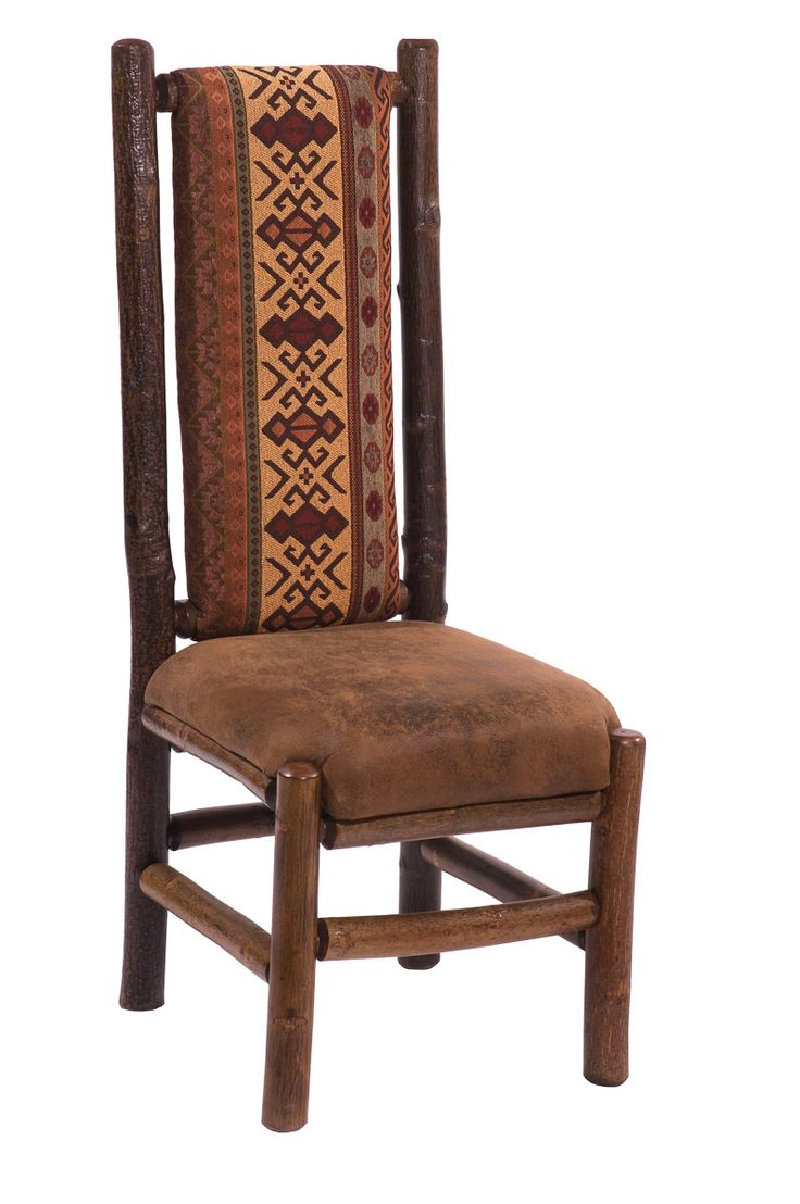 HICKORY DINING CHAIRS WITHOUT ARMS (TALL BACK) $259.00 Furniture Store In  Minnetonka, Minnesota
