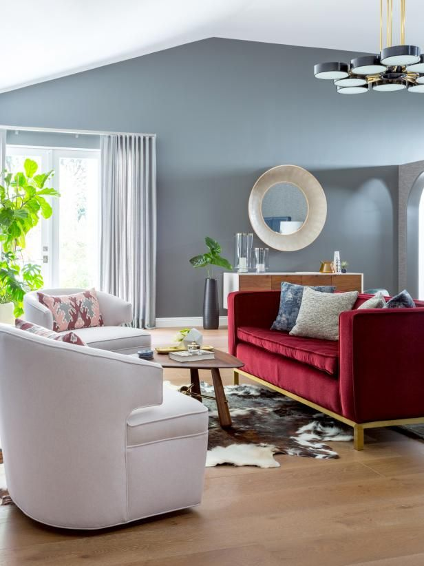 Master Bedroom Sitting Area Ideas Hgtv In 2020 Color Palette Living Room Living Room Color Room Colors