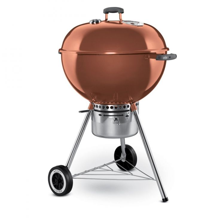 ... WEBER CHARCOAL GRILLS Weber One-Class as� Gold Charcoal Grill � Copper