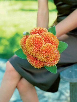 Fall wedding flower