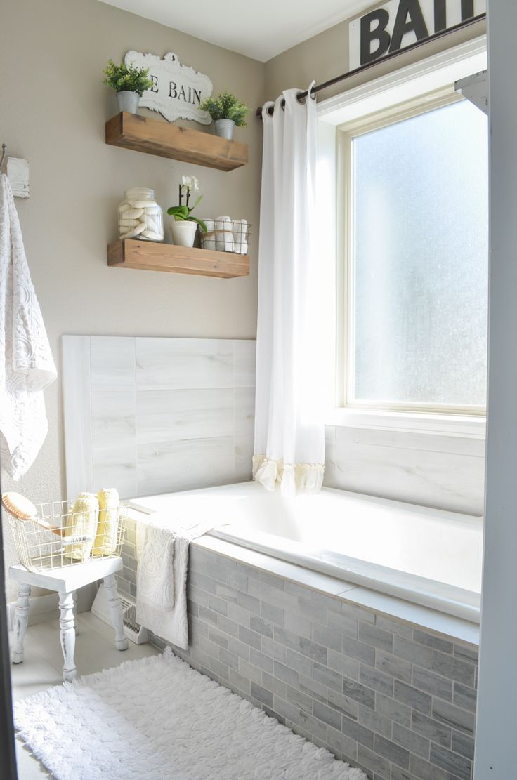 Farmhouse Style Master Bathroom Refresh For The Home Modern