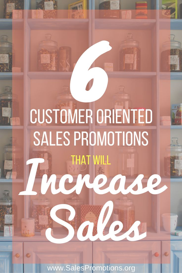 Sales promotions these days should not only be creative and include unbeatable offers, but they should also be customer-oriented. The customer always comes first with your sales promotions, and if you haven't thought of them in the process of creating it, then you need to start again. Here are 6 cusomer oriented sales promotions that will increase sales!