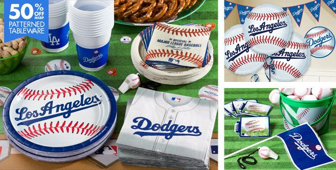 Los Angeles Dodgers Party Supplies - Party City