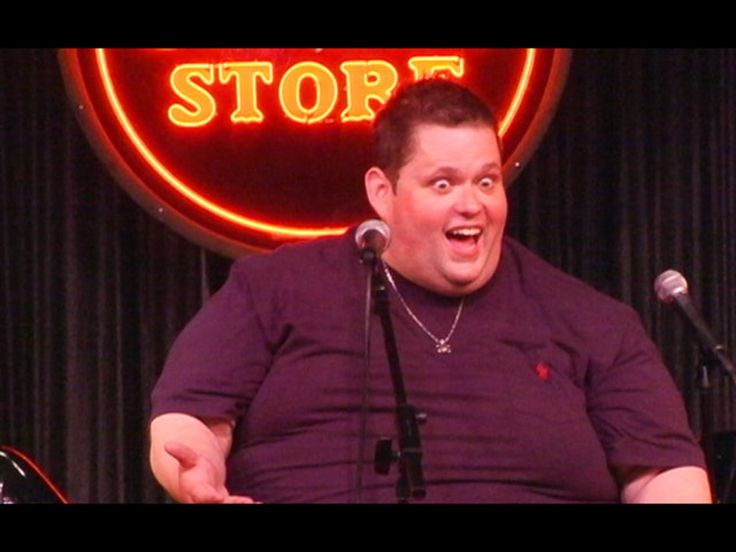 Comedian Ralphie May gives a talk at Stand-up Mastery
