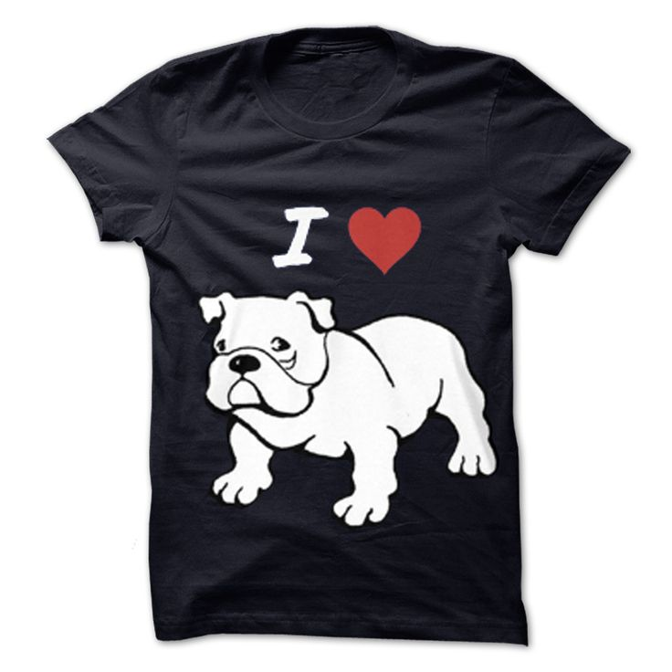 Super comfy with the trendy I Love Bulldog theme this T-shirt will be sure to bring in the compliments wherever you go! Not only will you look great you will feel great knowing that YOU have contributed to the well being of an English Bulldog in rescue. This great custom product in Black, White, SportsGrey, RoyalBlue, DarkGrey colors from our Pets category can be printed just for you in the size and style you like. The design Limited Edition –..