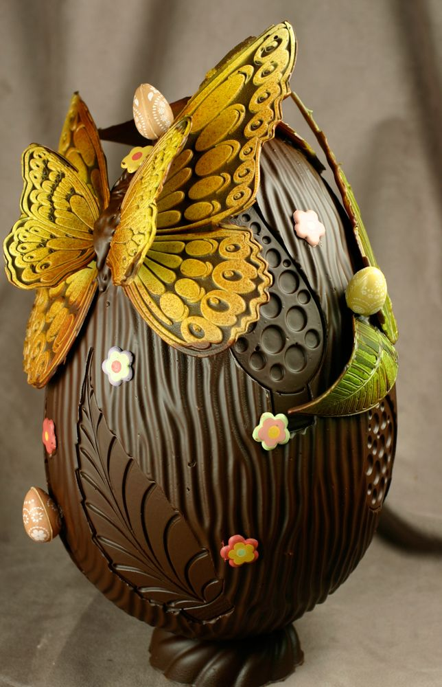 Chocolate Easter Eggs by Bruno Guillard | Chicago Mold School