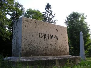 GRIMM: German philologist and folklorist who formulated Grimm's Law (1819), the basis for much of modern comparative linguistics. With his b...