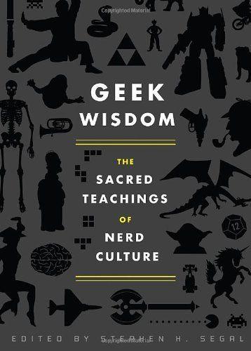 Jeg kan retfærdiggøre det, jeg er antropologistuderende og det er kultur :D    Geek Wisdom by N. K. Jemisin, http://www.amazon.com/dp/1594745277/ref=cm_sw_r_pi_dp_AegYqb1DQ2Q3M