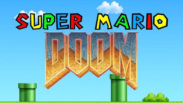Lets Play Super Mario DOOM!
