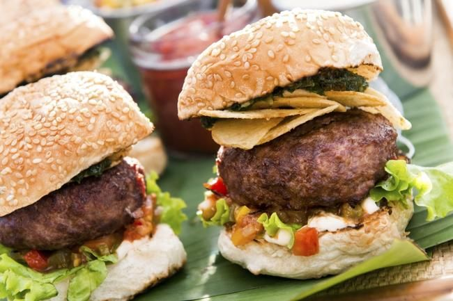 Tex Mex Sliders med tomatsalsa