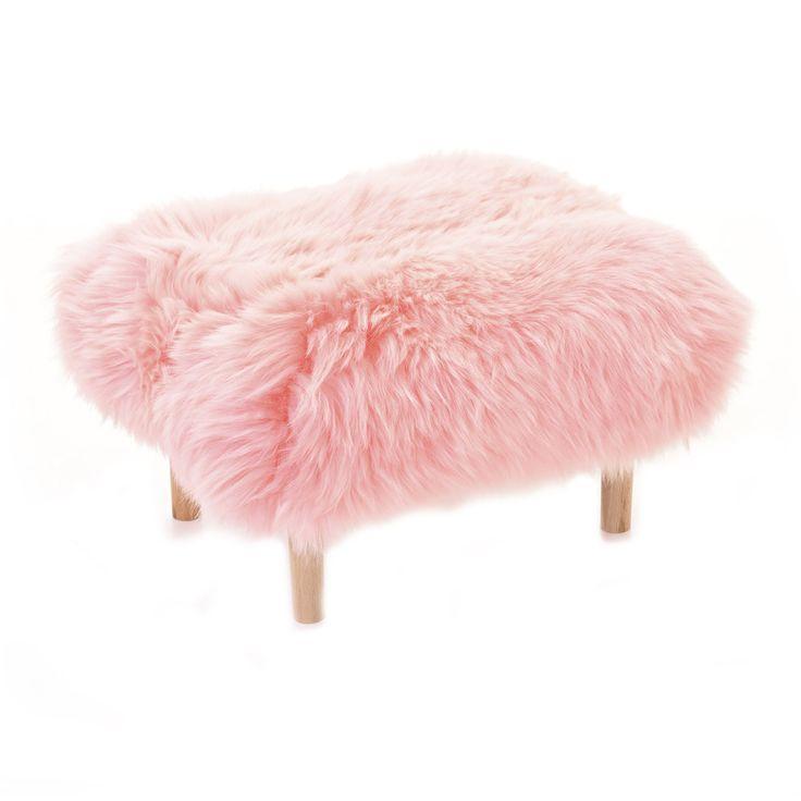 Bethan Baa Stool, Baby Pink