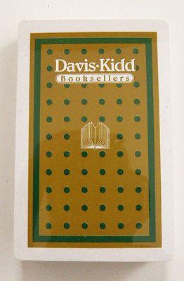 Tbb mint 25 egyedi tlet a pinteresten a kvetkezvel vintage davis kidd booksellers playing cards factory sealed negle Images