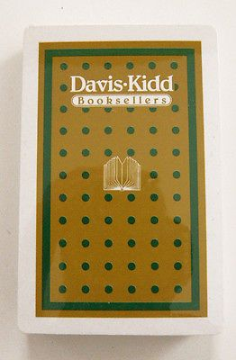 Vintage Davis-Kidd Booksellers Playing Cards Factory Sealed