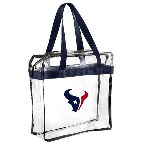 Houston Texans NFL Clear Messenger Bag