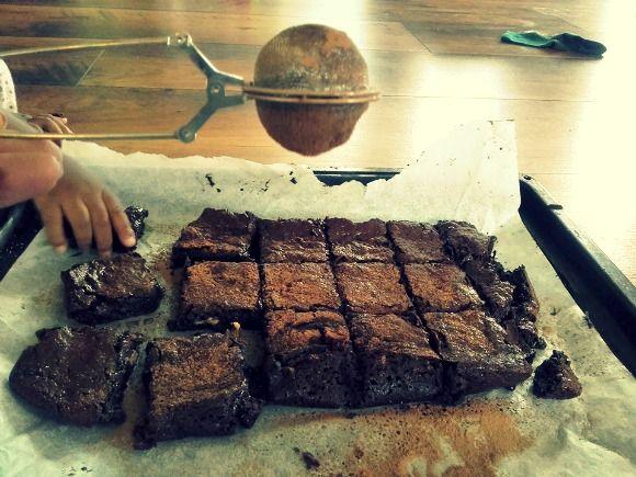 De beste browniene (veganske, uten korn og hvitt sukker)