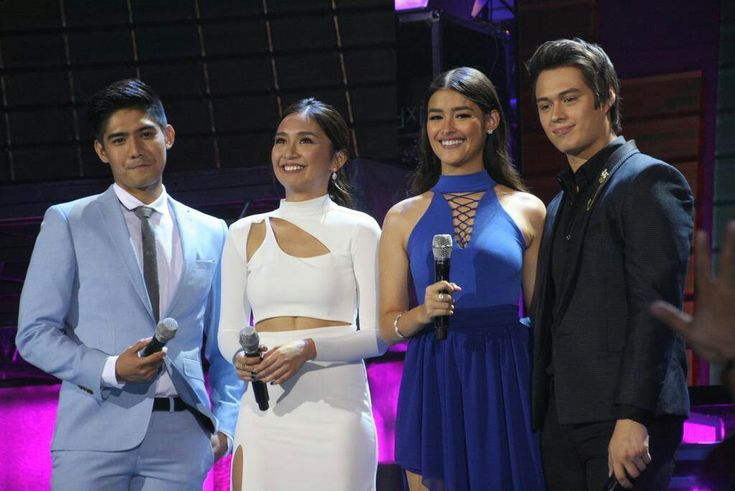 This is Robi Domingo, Kathryn Bernardo, Liza Soberano, and Enrique Gil doing their hosting stint during Himig Handog P-Pop Love Songs Grand Finals held at the Kia Theater in Quezon City last April 24, 2016. Indeed, they're are another of my favourite Kapamilyas, and they're amazing Star Magic talents. #RobiDomingo #KathrynBernardo #TeenQueen #EnriqueGil #LizaSoberano #AteHopie #LizQuen #HimigHandog2016