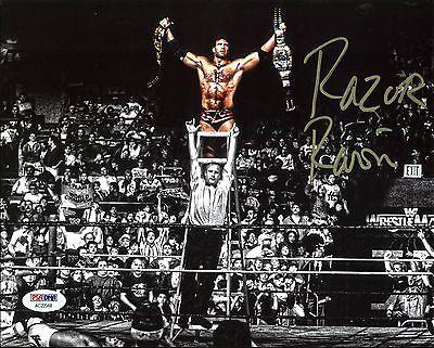Razor Ramon (Scott Hall) WWE Wrestling Authentic Signed 8X10 Photo PSA #AC22568