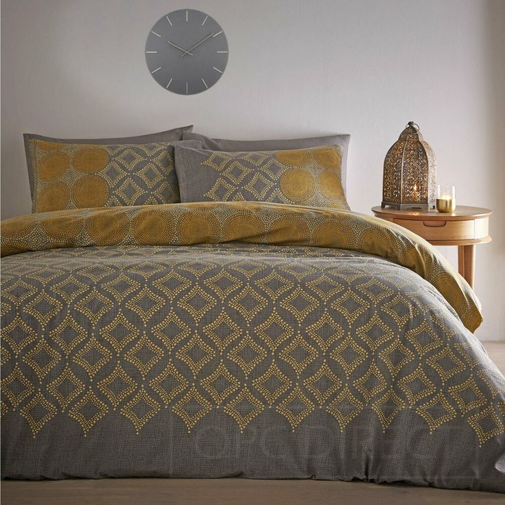 Details about Abstract Spot Diamond Reversible Duvet Cover