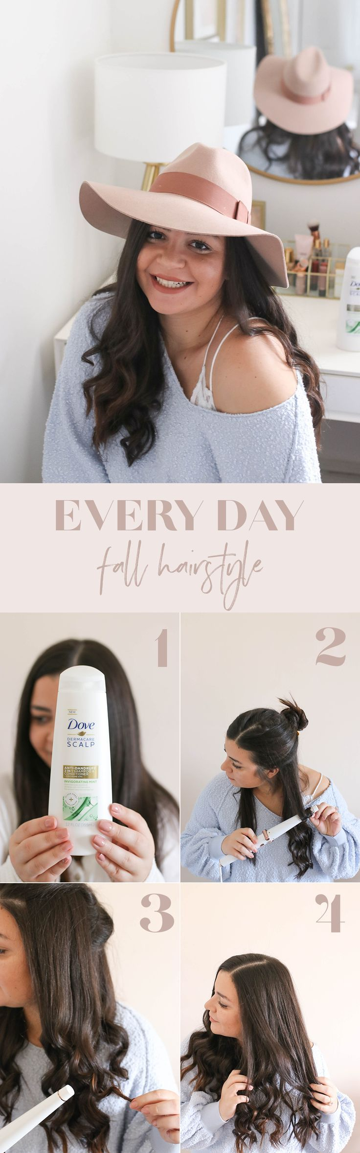 Everyday Fall Hairstyle Routine