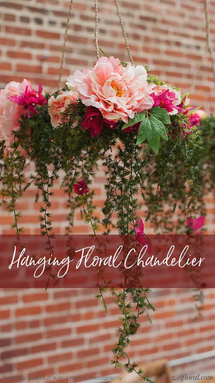 How to decorate home with flowers - Hanging Floral Chandelier Decorate Your Wedding Or Home With Gorgeous Hanging Arrangements That Will Truly Enhance