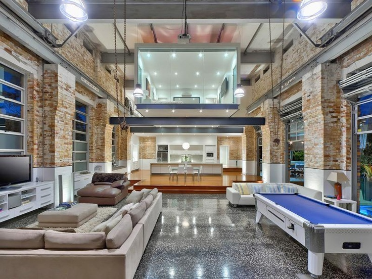 Love love love this power station that's been converted to a house