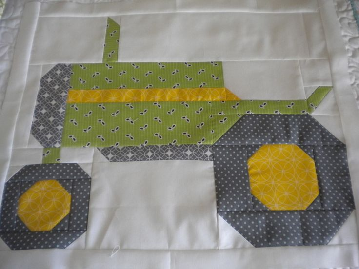 patterns for a tractor pillows - Google Search