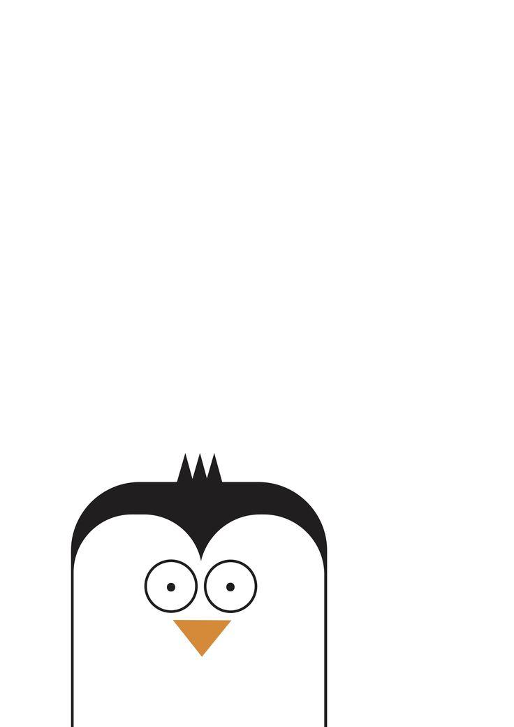 Penguin print by The Little Jones on etsy!