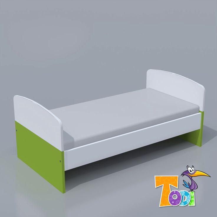 Kaméleon-fehér – junior ágy #juniorágy