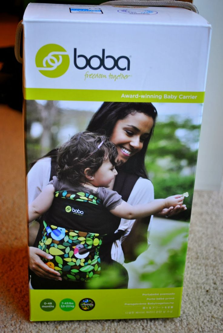 Diary of a Fit Mommy: Boba Carrier Review + GIVEAWAY