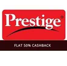 Prestige Pressure Cooker, Burner, Cutter & More Products Flat 50% Casbhack - Best Online Offer