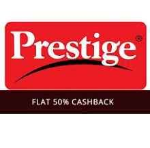 Prestige Pressure Cooker, Burner, Cutter & More Products Flat 50% Casbhack - Best Online Offer