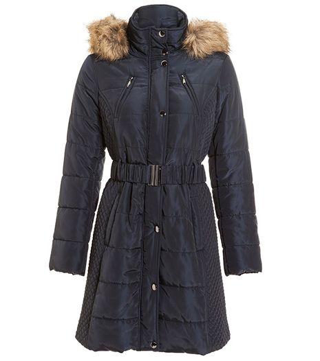 dámský kabát, levný kabát, prošívaný kabát : F&F