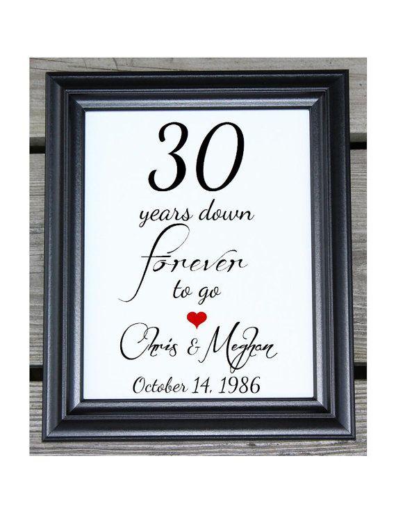 Oregon ducks 30th wedding anniversary gifts