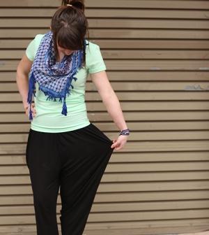How to wear MC Hammer pants