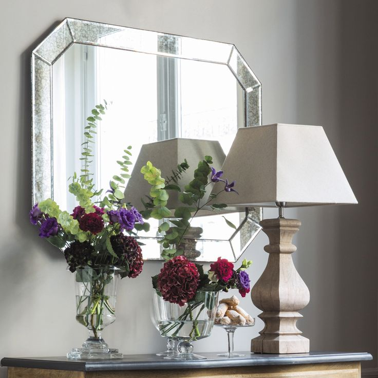 Specchio bordo obliquo H 100 cm APPOLINE