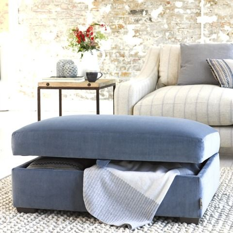 BUMPER FOOTSTOOL Is this a blanket box or a footstool? Either way it's incredibly practical.