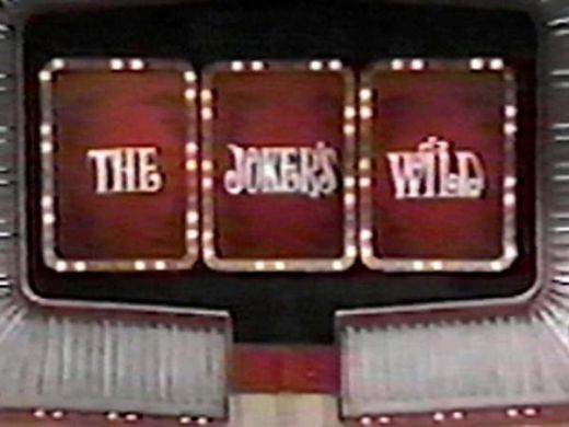 The Joker's Wild Game Show...I remember watching this with my grandpa after school!