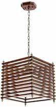 relaxdays Plafondlamp hout, Hanglamp design, Lamp met zacht licht,  Modern, Idustrielamp.