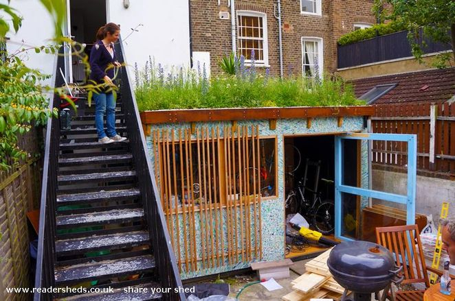 Marcus Shields- Shed of the year, green roof