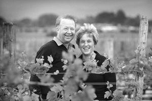 Neal and Judy Ibbotson. Saint Clair Wines. NZ