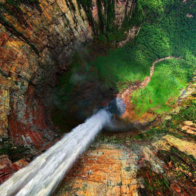 Dragon Falls @ Venezuela: Favorite Places, The View, Venezuela, National Parks, U.S. States, Angel Fall, Photo, The World, Dragon Fall