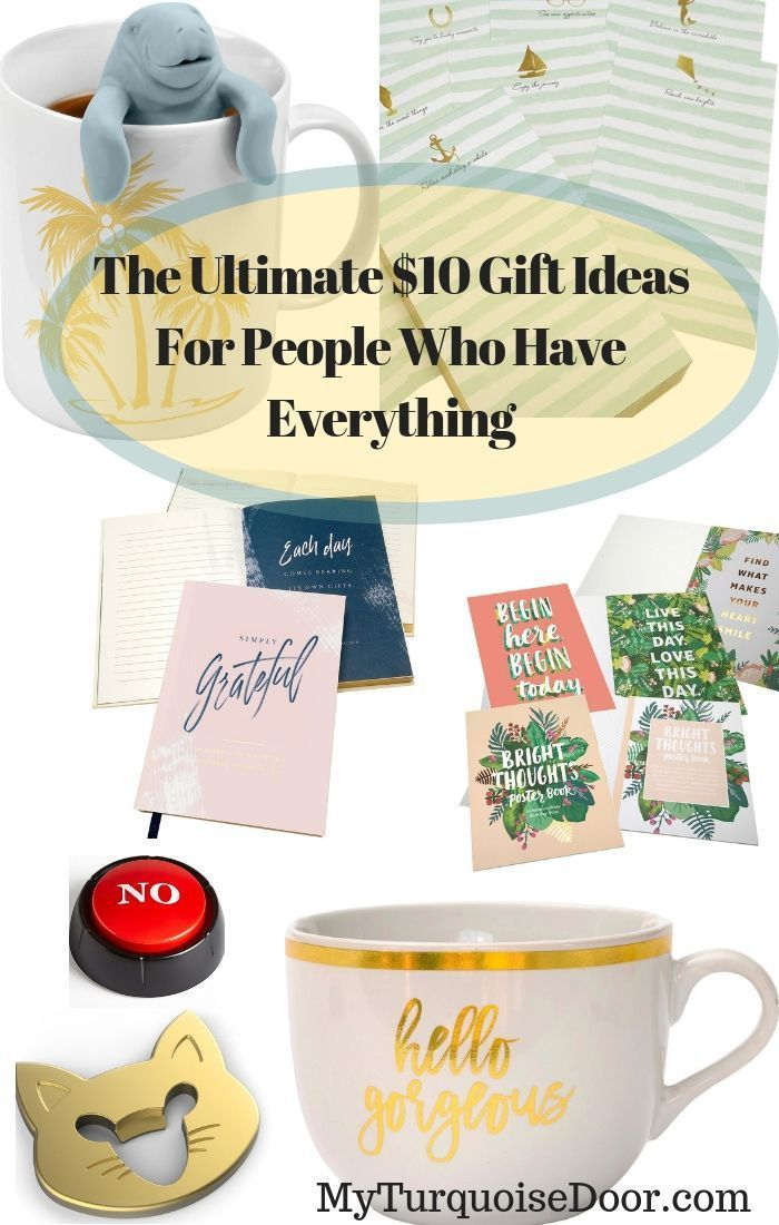 If you are looking for the Ultimate Christmas gift ideas for people who have  everything, you are going love this gift guide! #Affiliate Link - The Ultimate $10 Gift Ideas For People Who Have Everything Savings